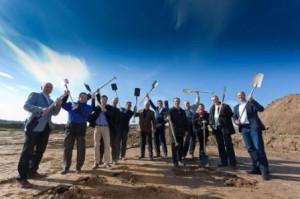 Bildquelle: oekostrom AG; Spartenstrich Kittsee zum EMAS-begutachteten Windpark
