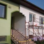 Bildnachweis: L. Schwarz, eNu; Dämmen der Außenwand hilft, Energie zu sparen.